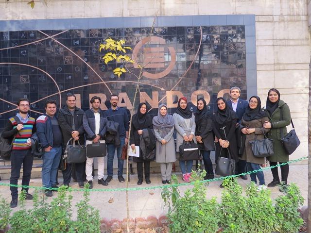 بازدید دانشجویان کارشناسی ارشد موسسه آموزشعالی ارشاد دماوند از ایرانداک