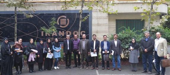 دانشجویان مدیریت فناوری اطلاعات دانشگاه تربیت مدرس از ایرانداک بازدید کردند