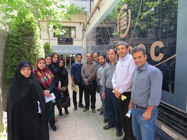 دانشجویان تحصیلات تکمیلی علم اطلاعات و دانششناسی از ایرانداک بازدید کردند