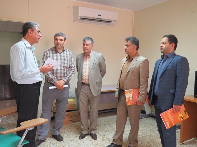 بازدید هیئت بازرسی مستقر در ایرانداک از بخشهای مختلف