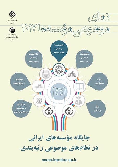 افزایش شمار مؤسسههای ایرانی در نظامهای رتبهبندی موضوعی جهانی در سال 2017
