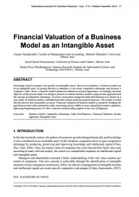 Financial Valuation of a Business Model as an Intangible Asset