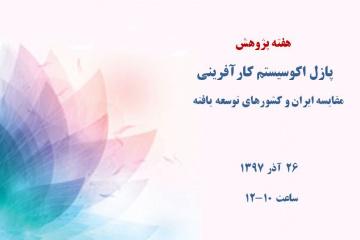 پازل اکوسیستم کارآفرینی: مقایسه ایران و کشورهای توسعهیافته
