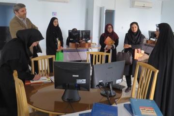 بازدید استادان موسسه آموزش عالی ارشاد دماوند از ایرانداک