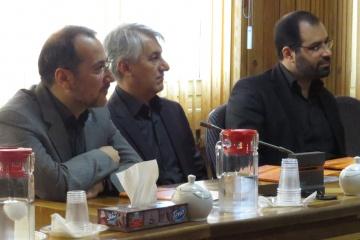 بازدید قائممقام و مشاور وزیر کشور از ایرانداک