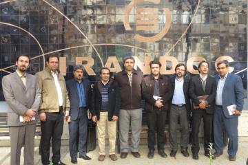 بازدید استادان دانشگاه فرهنگیان از ایرانداک