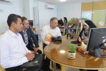 معاون پژوهش و فناوری دانشگاه شهید بهشتی از ایرانداک بازدید کرد