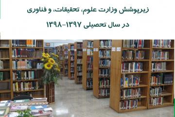 آمار کتابخانههای دانشگاهی منتشر شد