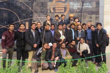 بازدید دانشجویان کارشناسی ارشد دانشگاه امام صادق (ع) از ایرانداک