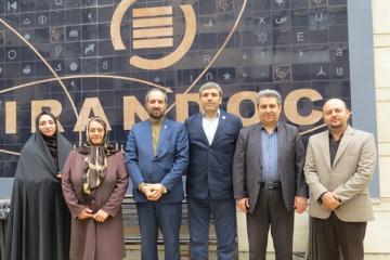 حضور اعضـای کمیسیون آموزش و پژوهش سازمان نظام صنفی رایانهای استان تهران در ایرانداک