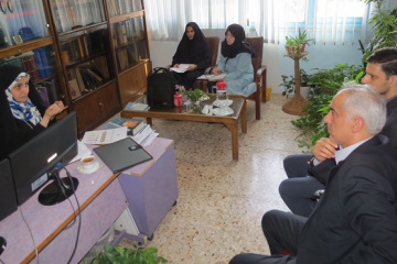بازدید دانشجویان دانشگاه تهران از ایرانداک