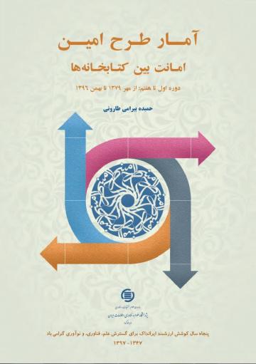 آمار طرح امین: امانت بین کتابخانهها دوره اول تا هفتم از مهر ۱۳۷۹ تا بهمن ۱۳۹۶