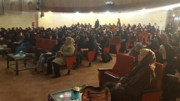 دانشگاه الزهرا میزبان زنگ ایرانداک شد