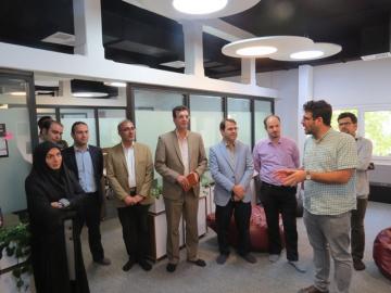 رییس دانشکده مهندسی صنایع دانشگاه صنعتی امیرکبیر از ایرانداک بازدید کرد