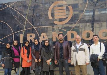 بازدید دانشجویان دانشگاه شهید بهشتی از ایرانداک