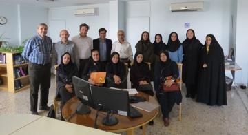 اعضای هیئتعلمی موسسه آموزش عالی ارشاد دماوند از ایرانداک بازدید کردند