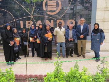 بازدید دانشجویان کارشناسیارشد و دکترای دانشگاه علوم پزشکی تهران از ایرانداک