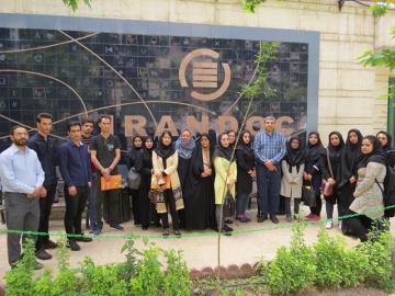 بازدید دانشجویان دکتری و کارشناسیارشد دانشگاه تهران از ایرانداک