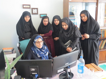 بازدید دانشجویان کارشناسیارشد دانشگاه تربیت مدرس از ایرانداک