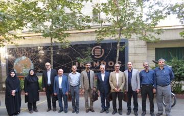 مدیران فناوری اطلاعات فولاد مبارکه از ایرانداک بازدید کردند