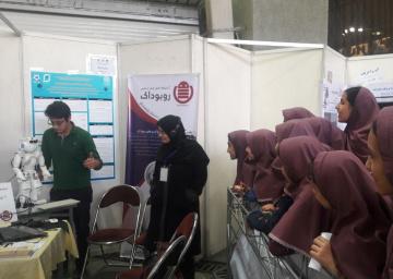 مقام چهارم روبوداک در جشنواره بینالمللی رباتیک و هوش مصنوعی امیرکبیر