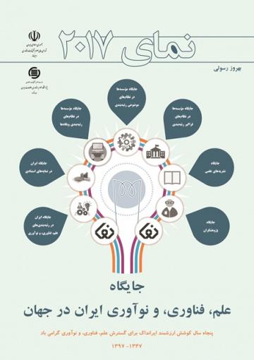 انتشار ویرایش 2017 جایگاه علم، فناوری، و نوآوری ایران در جهان (نما)
