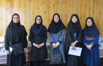 دانشجویان خارجی دانشگاه تربیت مدرس از ایرانداک بازدید کردند